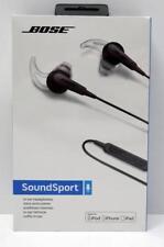 Bose SoundSport Apple schwarz Kopfhörer
