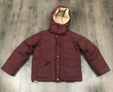 Vintage Penfield Down Jacket Removable Hood  Size Small Medium ** WEAR **