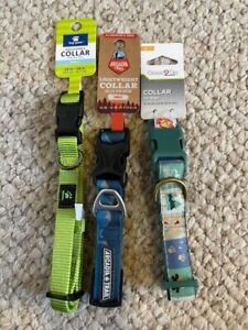 Arcadia trails / top paw dog collars lot of 3 S / New :)