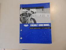 Teile Katalog parts list catalog ue BUELL XB9R Thunderbolt Modelljahr 2003