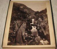 Antique 1894 KNUD KNUDSEN Norway Travel PHOTOGRAPH Album -Important Photographer