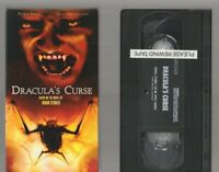 DRACULA'S CURSE Horror VHS video Movie Gore Cult Slasher Sex BRAM STOKER