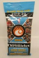 🏀🔥CELLO FAT PACK🔥 2019-20 Panini CHRONICLES NBA Basketball 15-card VALUE Pack