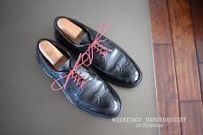 Alden x Brooks Brothers Black Fleece 23277 Pebble Grain Longwing Shoes Sz. 9.5D