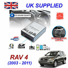 TOYOTA RAV4 MP3 SD USB CD AUX Input Audio Adapter Digital CD Changer Module