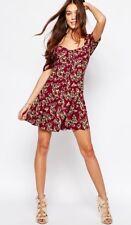 Ladies Dress By Flynn Skye Nyla Tea Dress Size Large 12-14 Brand New
