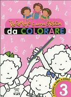 Tre gemelle e una strega da colorare: 3 - Elisa Prati -Libro Nuovo in Offerta