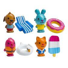 Sago Mini - Bpa and Mold Free , Easy Clean Bath Squirters Floaties - Gift Pack