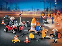 Playmobil Advent Calendar Construction Site Fire Rescue 9486 76 pieces