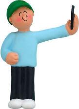 Selfie (male boy) Christmas Ornament Free Shipping