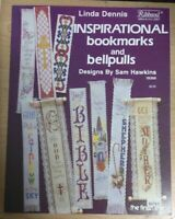 INSPIRATIONAL  BOOKMARKS AND BELLPULLS  CROSS STITCH LEAFLET