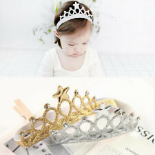 Fashion Crown Headband Glittering Pearls Baby Crown Hair Accessories Korean LI