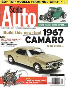 Scale Auto Enthusiast June 2015 1967 Camero AMT Chevy Pickup Channel Ford Hemi
