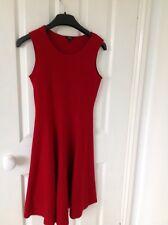 Womens Hobbs Red Dress size 8 100% Wool