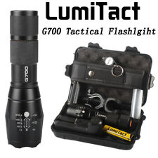 100 Genuine LumiTact G700 Super 20000lm CREE LED Tactical Flashlight Torch