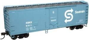 ATLAS 20001627 HO TRAINMAN 40' PLUG DOOR BOX CAR SEATRAIN RBNX 81911