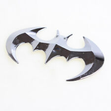 Silver Car SUV Off Road Tailgate Batman Logo Plating Metal Emblem Sticker Badge