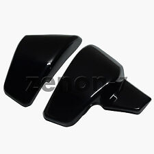 Black Battery Left&Right Side Cover For Honda Shadow VT600C CD VLX 600 1999-2007