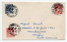 1950´s IRELAND TO URUGUAY AIRMAIL COVER, SCARCE FRANKING, NO RESERVE !