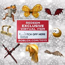 Roblox Virtual Bonus CHASER CODE Series 3 Mystery Box Figure Toys Pack RARE VHTF