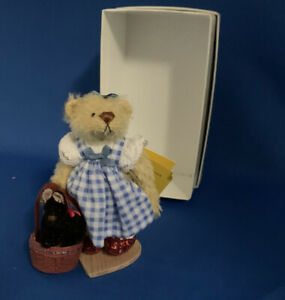 """DEB CANHAM  """"THE OZ COLLECTION""""  Dorothy Miniature bear Retired  Wizard Of Oz"""
