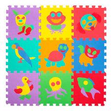 Spielmatte 69tlg Spielteppich Puzzlematte Kinderteppich Matte Schutzmatte Tiere