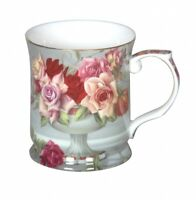 Serenity Rose 415cc Mug Fine Bone China Coffee Tea Cup Mug  Xmas Gift