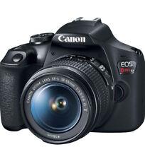 Canon EOS-2000D 24.1MP DSLR Camera Black (Kit EF-S 18-55mm IS II Lens) US Adpter