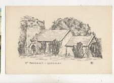 St Margarets Church Somersby Lincolnshire Vintage Postcard 435b
