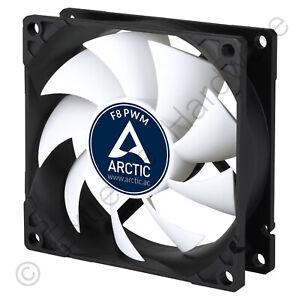 Arctic F8 PWM Rev.4 80mm Case Fan 300-2000 RPM 31 CMF 0.3 Sone 4-Pin