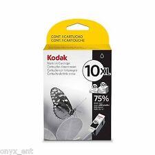 Genuine Kodak 10XL Black Ink Cartridge Original 10B XL Black 3949922