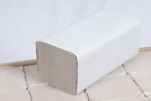 AmazonCommercial V-Falz Papierhandtücher 5000 Blatt Recyceltes Papier 24,5x23cm