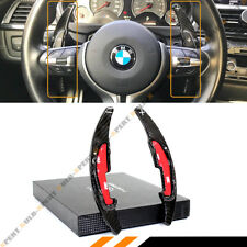 Carbon Fiber Steering Wheel Paddle Shifter Extension DSG For BMW M2 M3 M4 M5 M6
