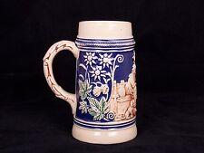ANTIQUE DUMLER & BREIDEN BEER STEIN No. 1589 - GERMANY 1/2L Cobalt Blue