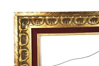 "Vintage Baroque Style Ornate Gold Gesso Photo Picture Frame Fits 20"" x 16"""