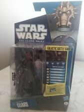 STAR WARS THE CLONE WARS ACTION FIGURE NIKTO GUARD
