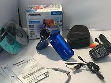 Panasonic HX-WA30 FULL HD WATERPROOF UNDERWATER Camcorder & 64GB SD Card BLUE