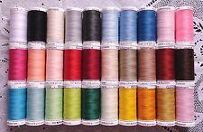 30 BIG different GUTERMANN 100% polyester sew-all thread 274 yard Spools