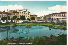190359 GORIZIA MONFALCONE - FONTANA Cartolina FOTOGRAFICA