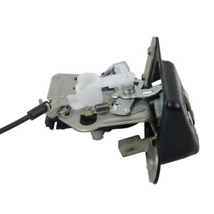 Liftgate Latch Trunk Lock Actuator w/ Cable Jeep Compass Patriot Liberty Rear