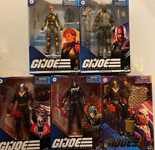 Lot Of 5 GI JOE Classified Series Cobra Commander DESTRO Scarlet & More L?K