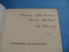 DE PLEHEREL Le RAMONEUR DE STRASBOURG 1878 ENVOI Signé à ALFRED MAME / Hollande