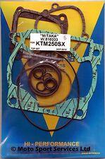 Top End Gasket Set KTM 250 KTM250 2007-2017 SX SXS XC EXC Mitaka (333)