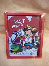 DIARIO SEGRETO TOPOLINA BEST FRIENDS   con lucchetto e 2 chiavi    cod.7802