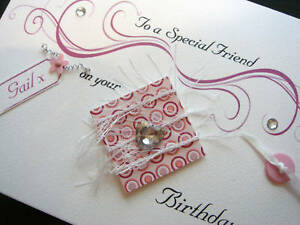 Personalised Special Friend Birthday Card