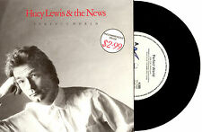 "HUEY LEWIS & THE NEWS - PERFECT WORLD - 7"" 45 VINYL RECORD PIC SLV 1988"