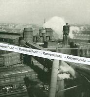 Dortmund - Blick auf die Hochöfen - Dortmund-Union - um 1935             T 29-25