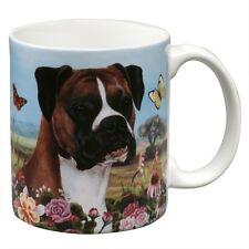 Boxer Uncropped Garden Party Fun Mug