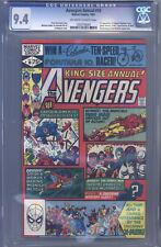 Avengers Annual #10 CGC 9.4 Golden, 1st Rogue & Madelyne Pryor, Carol Danvers