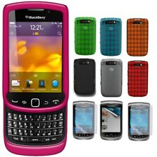 AMZER TPU Skin Hard Snap Case Screen Protector For BlackBerry Torch 9810 9800